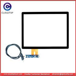 """12"""" 4: 3 Interface USB do painel táctil capacitivo para quiosques e POS"""