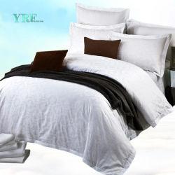 Ontwerp 100% van het Blad van het Bed van Yrf Reeks van het Beddegoed van de Zijde van het Linnen van het Bed van het Katoenen de Witte Hotel van de Luxe