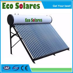Le moins cher Ce, Keymark RoHS, acier inoxydable de pression de réservoir d'eau non galvanisé le support de bobine de cuivre chauffe-eau solaire pièces de rechange des tubes à vide