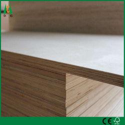 Factory-Poplar comerciales Core Tablero contrachapado para muebles