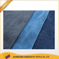 Tissu denim Indigo 5.2oz poly/coton tissé pour tissu Denim Jeans