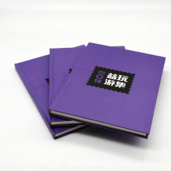 De nieuwe Druk van het Boek van Hardcover van de Zegel van de Douane/het Filatelistische Album van het Boek A4 Boardbook/Stamp van de Raad