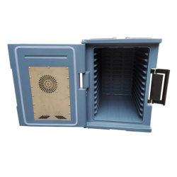صندوق تدفئة الطعام التجاري الدسم الشقفي يحافظ على الطعام تسخين الطعام المناسب لصناديق الطعام بدرجة الحرارة