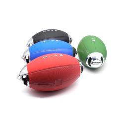 El fútbol al por mayor de OEM de Rugby portátil inalámbrico forma altavoz Bluetooth M521, reproductor de música audio HiFi
