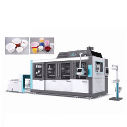 High Speed Automatic Plastic PS Pet Cup Forming Thermoforming Machine aus PP