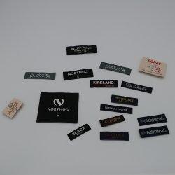 Moda de alta qualidade Custom Design de diferentes tecidos para vestuário de Rótulo