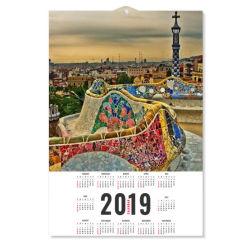 Hangt 3D Lenticular Kalender van de douane op Muur voor de Kalender van de Decoratie van het Huis