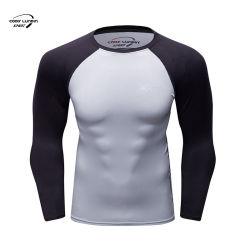 Camice di Cody Lundin per le camice della biancheria intima del Mens delle magliette della maglietta degli uomini per la camicia di compressione del supereroe delle magliette della maglietta delle camice di usura di ginnastica delle magliette della camicia degli uomini