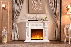 環境の木製の非常に熱いストーブのための白かブラウンまたは黒い木製の暖炉
