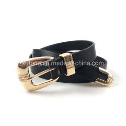 Nouveau style de Lady Fashion tissés personnalisés de la courroie ceinture en cuir