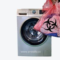 병원 감염 통제/물을 위한 일회용 PVA 수용성 세탁 가방 수용성 플라스틱 백