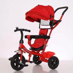 Il bambino del bambino delle 3 rotelle scherza il triciclo di bambini 3 in 1