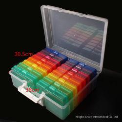 29514 16 Case Photo Organizer Storage Box Craft Keeper met Foto's van 4 x 6 inch vasthouden