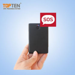 زر SOS نظام تحديد المواقع العالمي الشخصي ونظام تعقب البطارية الاحتياطية الطويلة مع إنذار انخفاض الطاقة (PT99-JU)