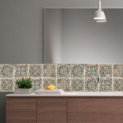 Самоклеющиеся наклейки на стене декоративных ПВХ Плитка керамическая ванная комната кухня стены керамическая плитка