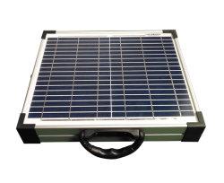 2 pliegues 20W 18V Cargador Panel Solar portátil