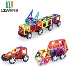 58 pcs Bloc de construction magnétique d'enfants de jouets éducatifs pour les enfants de carreaux de l'aimant