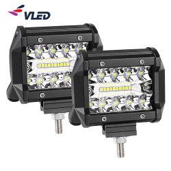 Il fascio di punto IP69K impermeabilizza la barra chiara di riga la contabilità elettromagnetica RoHS dei baccelli automatici triplici dell'automobile LED