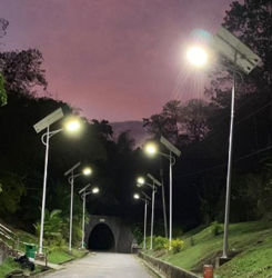 30W-80W openlucht LEIDENE van de Energie van de Macht van de Weg van de Tuin ZonneStraatlantaarn