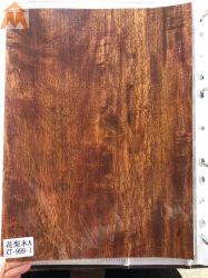 ورق طباعة على شكل رقائق ساخنة مع لوحة حائط من الخشب فوق البنفسجي