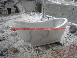 Ton van het Bad van de steen de Witte Marmeren voor Badkamers