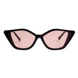 2021 модный прямоугольник солнечные очки с розовым объектива
