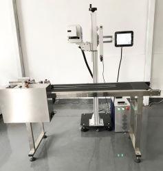 Meilleur Prix Fibre/uv/machine de marquage au laser Gravure de vol de CO2 Utilisation de la machine sur la ligne d'emballage pour la Date/ Lot n°/ Impression de logo