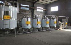 결합된 Uht 또는 저온 살균을 행한 우유 공정 라인 또는 요구르트 가공 공장