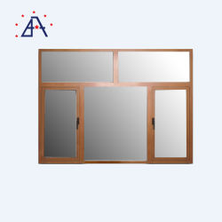 Top Kwaliteit Aluminium Casement Venster Met Dorpel, Populair In Arabische Markt