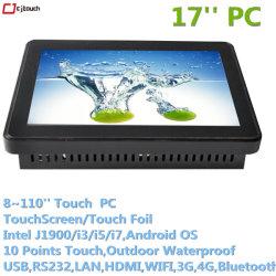 Cjtouch Pcap touchscreen PC USB RS232 WiFi RJ45 COM Bluetooth Fingerprint Tablet Computer Monitor