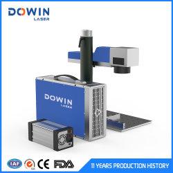 Laser-Maschinen-Vorsichtsmaßnahme-Tischplattenfaser-Laser-Markierungs-Gravierfräsmaschine für Metallschmucksache-Peilung