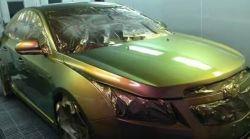 光学可変顔料 C620p 光学カラートラベル効果セキュリティインク スクリーンフレキソ印刷エンボスおよびグラビア光学色変化インキ