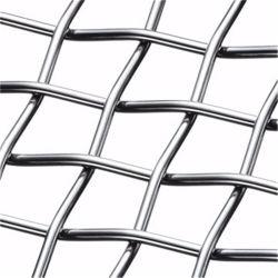 3×3 سلك مجند من الفولاذ المقاوم للصدأ سلك شبكي / ألومنيوم شبكي سلكي مثني منسوجة لمتوجة الشاشة