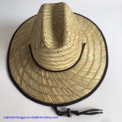 Sommer-populäre Form-Hand-Knitted erwachsener Landwirt-Arbeits-Papier-Strohhut
