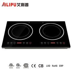 Электроприбор кухонных кухонном столе 2 горелки индукционные плиты для приготовления пищи с электроприводом