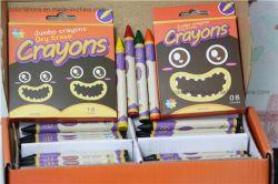 Lápiz de color borrables en seco para los niños pueden dibujar en la ventana de vidrio, fácilmente lavable bañeras de bebés Fábrica de lápices de colores