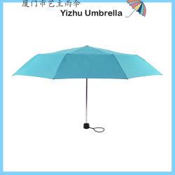 faltender Regenschirm Adertisement Regenschirm-Dame-Regenschirm des Regen-21inch 3 - Handbuch geöffnet (YZ-20-35)