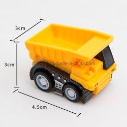 Brinquedos de plástico pequena máquina/modelo de 4,5cm caminhão de brinquedos para crianças