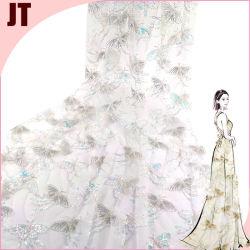 2021 نمط الفراشة الجديد تتمة الخرز التتلمل الخرز لون زفاف أزياء لاس لبوليستر