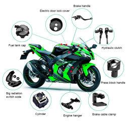 Logo gravure laser Service CNC Machining Service pour pièces de moto