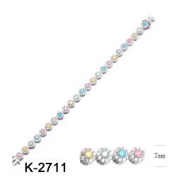 Оптовая торговля моды ручной работы украшения 925 серебристые или латунного цвета камня браслеты