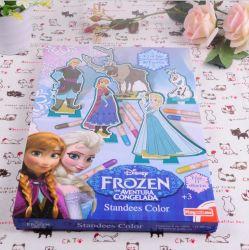 3-6-anos EVA Livro para colorir para crianças o desenvolvimento intelectual Doodle do bebê Livro de Pintura em aquarela de pintura