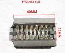 La plata contacto auxiliar para 1600 un ACB Drowout disyuntor del circuito de aire