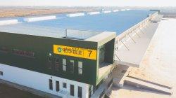 Costruzione modulare di montaggio dell'indicatore luminoso della struttura d'acciaio del magazzino prefabbricato della costruzione