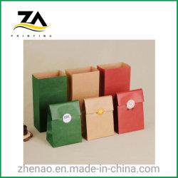 Diseño personalizado de alta calidad de impresión de etiqueta para la bolsa de caramelos