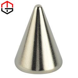 Materiale magnetico irregolare e resistente con rivestimento in nichel