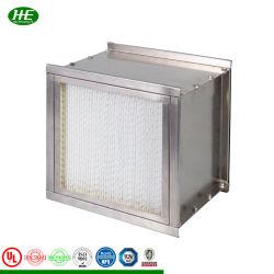 H13 산업용 에어 필터, 클린 룸 HEPA 필터, 고온 오븐 공기 여과 장치