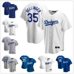 Nuovo baseball Jersey di Los Angeles Dodgers Cody Bellinger di 2020 stagioni