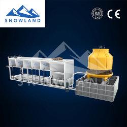15T وحدة صنع الثلج مع واجهة تشغيل بسيطة جديدة من نوع PLC، سهلة التحكم