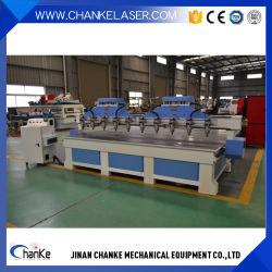 4 スピンドル 3D マルチロータリー 5 軸 CNC 木工機
